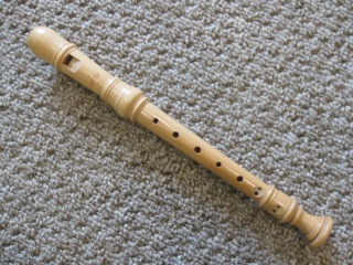 Moeck maple descant recorder