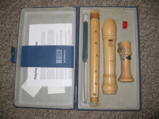 Moeck maple tenor recorder