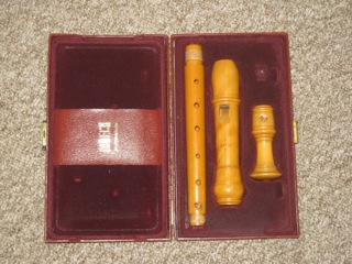 Moeck Castello Boxwood treble recorder